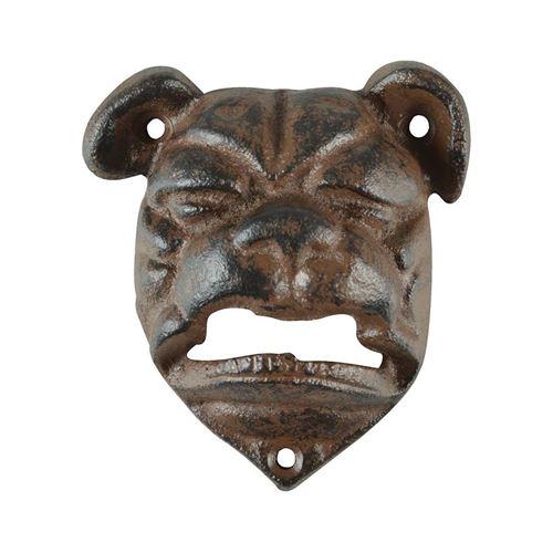 Esschert Design - Ouvre bouteille tête de chien