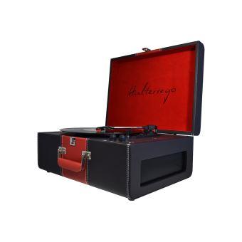 Platine vinyle Halterrego H.TURN Deluxe Noir et Rouge