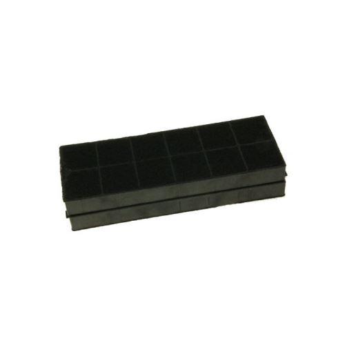 Filtres a charbon actif (x2) 25 x 9,5 x 2,3 cm pour hotte candy - hoover - rosieres - h718151
