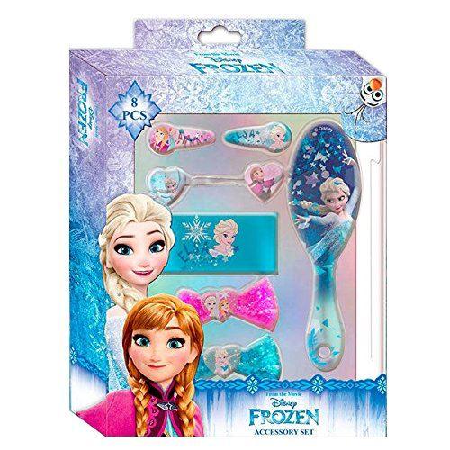 Disney Reine des Neiges Set Accessoires Cheveux 8 Pièces, WDFR181