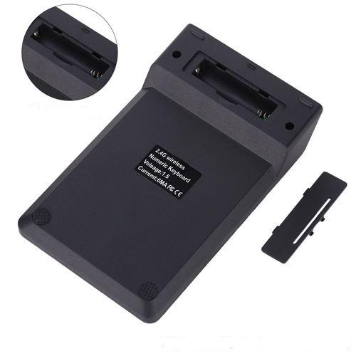 Pave Numerique Sans Fil pour DELL PC Clavier USB Chiffres 18