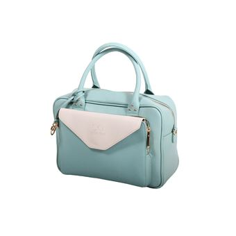 buy price reduced wide varieties Sac + pochette Andie Blue collection HEKA A8066-Naturel ...