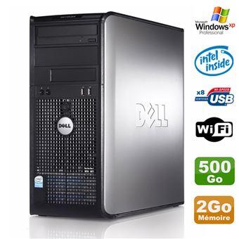 Pc Tour Dell Optiplex 755 Mt Intel E5200 2 5ghz 2go Disque 500go Dvd