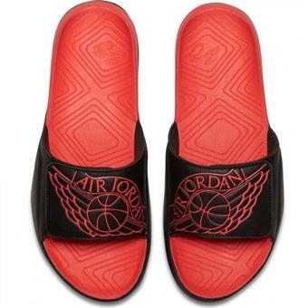 new concept ac4eb 23bb6 Sandales Jordan Hydro 7 Slide Tech Noir infrared pour homme Pointure - 48.5  - Chaussures et chaussons de sport - Achat   prix   fnac