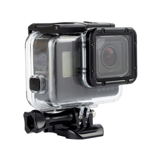 60M Case Boîtier étanche + Backdoor écran pour GoPro Hero 7 Hero 6 et 5camera