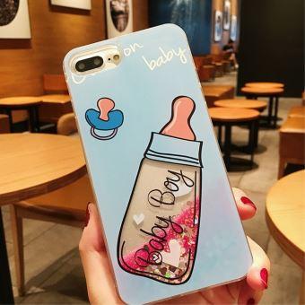 coque iphone 8 plus liquide sable