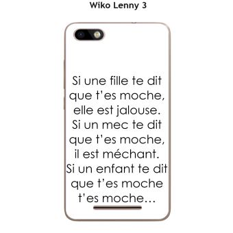 Onozo - Coque Wiko Lenny 3 - Jerry design Citation