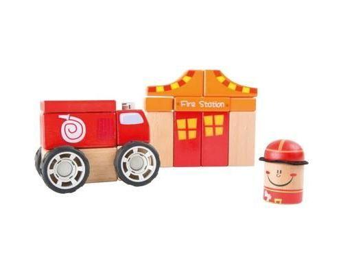 Kit de construction Pompier en Bois