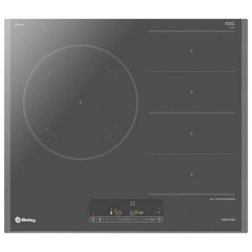 Plaques Flexinduction Balay 3EB969AU 60 cm Anthracite (5 zones de cuisson)