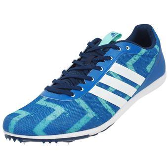 Chaussures à pointes d'athlétisme Adidas Distancestar pointes Bleu taille : 42.5 réf : 0