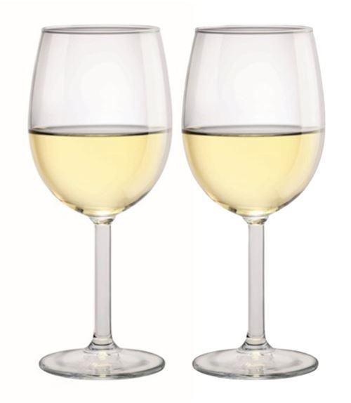 Paire de verres à vin 350 ml