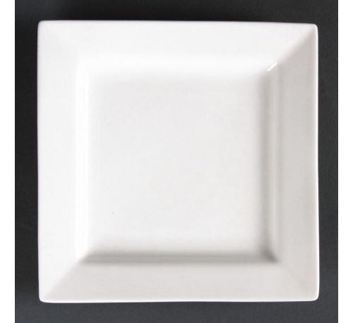 Assiettes carrées 233mm lumina