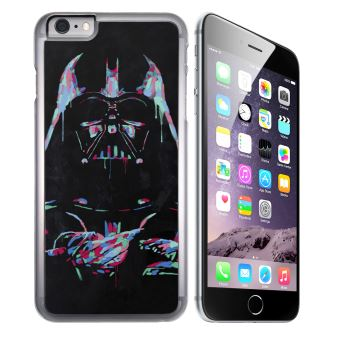 Coque pour iPhone 8 PLUS star wars dark vador neon
