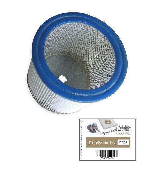 Kallefornia K731 1 filtre pour aspirateur Bosch PAS 12-50 F