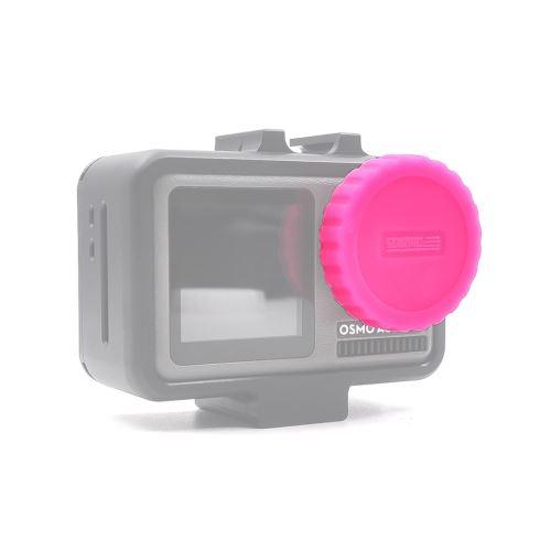 Protection objectif de la caméra silicone Cap Cover Guard pour DJI Osmo Action Camera
