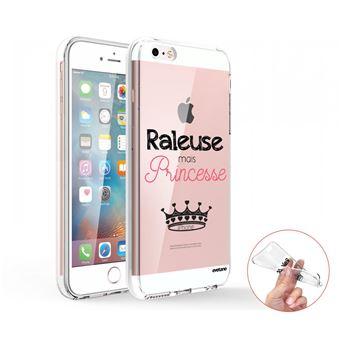 Coque Iphone Se / 5s / 5 360 Intégrale Transparente, Raleuse Mais Princesse, Evetane®