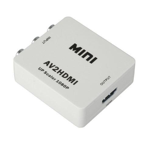 Adaptateur convertisseur pour RCA vers HDMI Audio