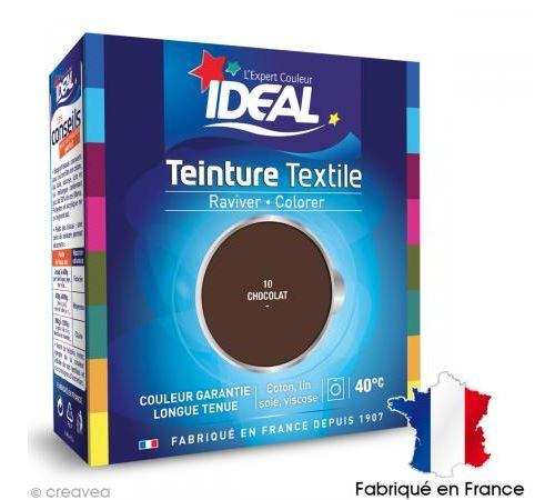 Teinture Tissu Idéal liquide Brun chocolat 10 maxi
