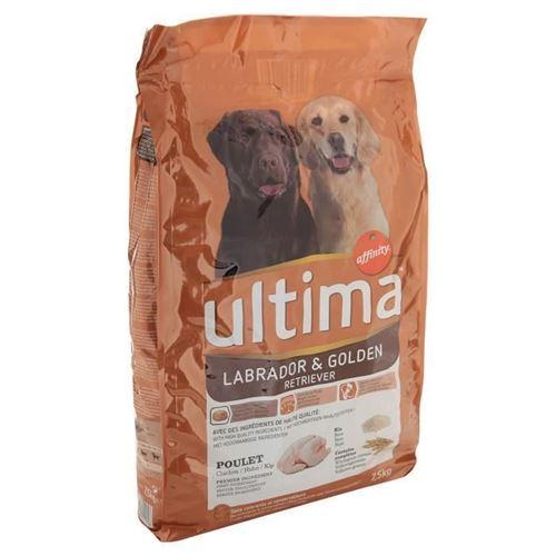 Ultima Croquettes - Pour Labrador Golden - 7,5kg
