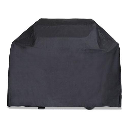 HOUSSE de protection BARBECUE 142 x 43 x 120 cm NOIRE COVER Doublée rembourée