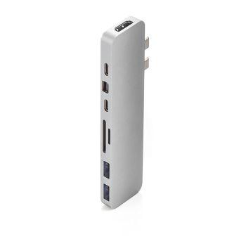 Hub multi-ports USB-C Mobility Lab Hyper Drive Pro Argent