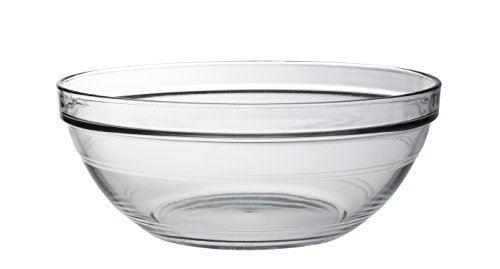 Duralex 2029af06 lys saladier verre transparent 26 cm
