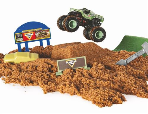Voiture Monster Jam Monster Dirt échelle 1:64
