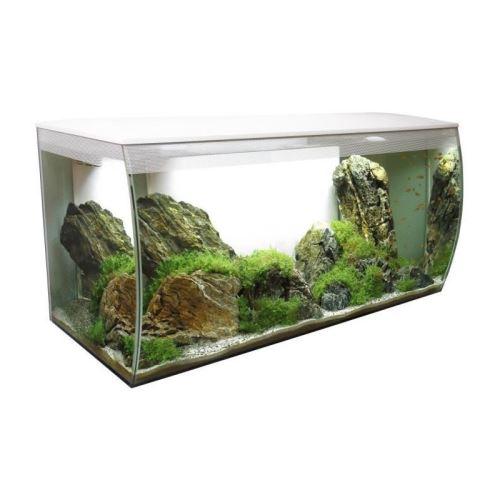 fluval aquarium équipé flex 123 l - blanc