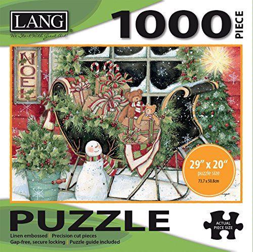 LANG - 1000 Piece Jigsaw Puzzle - Santa's Sleigh