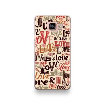 Coque pour Huawei P20 Lite motif Typographie Love Multicolor