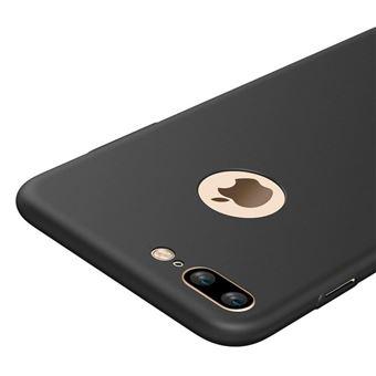 Coque Silicone Noir Gel TPU Ultra Slim Ultra Souple pour Iphone 7