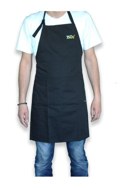 Tablier Noir Le Chef-1112-13