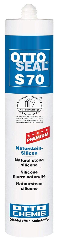 OttoSeal S70 Silicone naturel 310 ml (Plusieurs coloris disponibles)