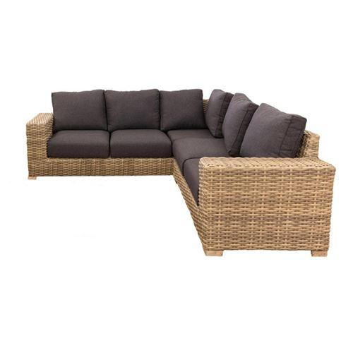 Canapé d'angle d'extérieur Rotin - FAAONE