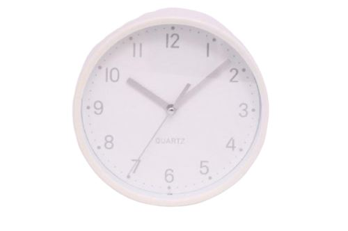 Horloge Blanche Avec Support