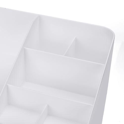 Cosmetic Drawers Storage Box Sundries Organizer Jewelry Biseau à trois sofas