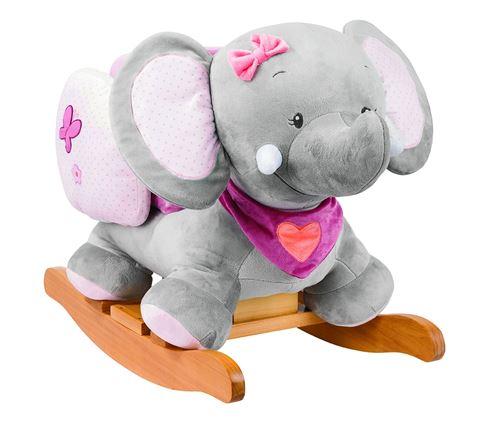 Bascule Nattou Adèle l'éléphante Collection ' Adèle et Valentine '