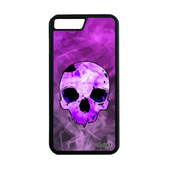 coque iphone 8 plus silicone violet