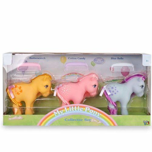 Mon petit poney 35266 Mon paquet de 3 collectionneurs rétro