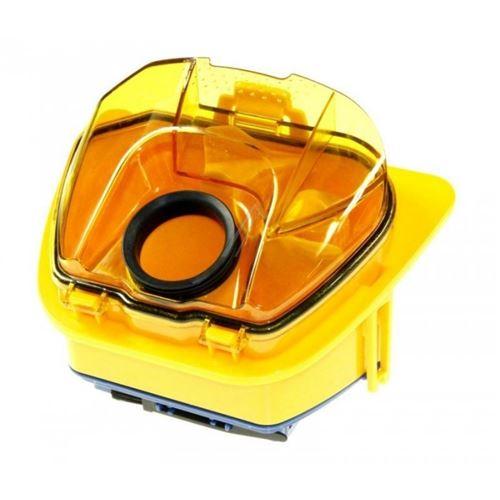 bac separateur orange pour aspirateur moulinex