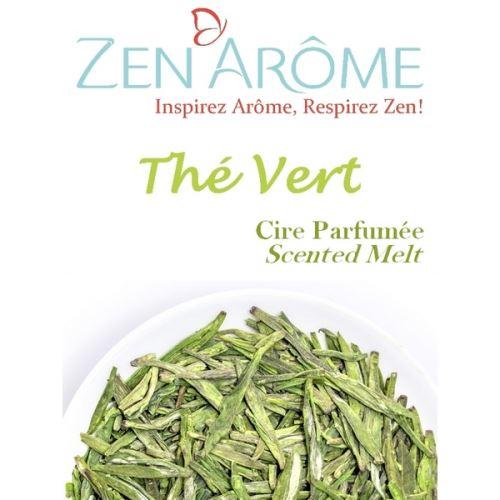 Cire parfumée senteur thé vert - blanc