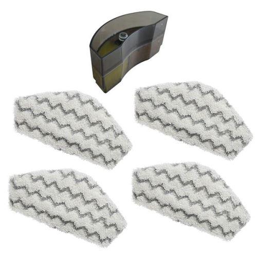 Lot de 4 lingettes microfibres + 1 filtre anti-calcaire de Thermostat®