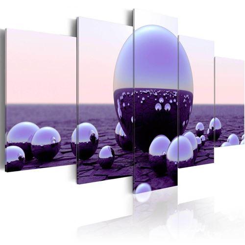 Artgeist - Tableau - Purple Balls 200x100