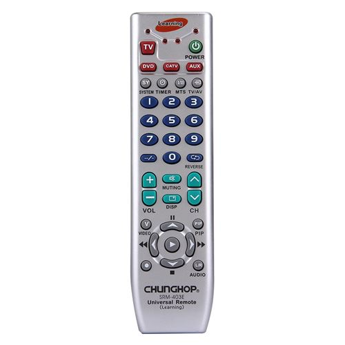 (#103) Universal Intelligent Learning-Type Remote Control for TV VCR SAT CBL HIFI DVD CD VCD and Oth