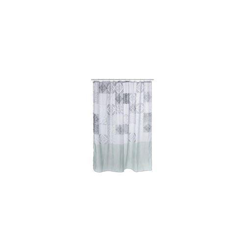 Rideau de douche L 180 x H 200 cm - Isalyne - Polyester