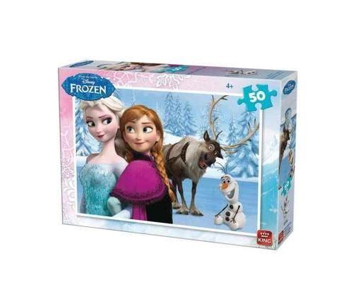 Puzzle reine des neiges 50 pieces