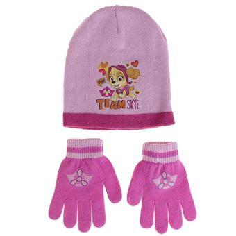 42f0d8440c275 Pat patrouille ensemble bonnet et gants fille - rose - gants rose foncé -  Bonnets et cagoule de sport - Achat & prix | fnac