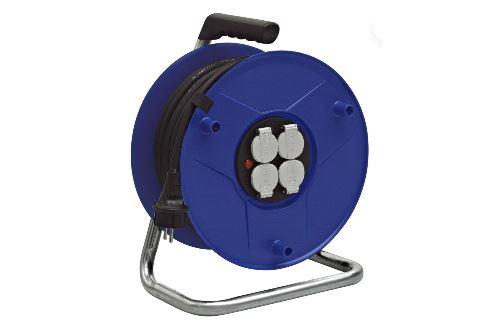 Enrouleur électrique Bat-Pro BRENNENSTUHL - Câble 40 m - 3G1.5 - 1205951