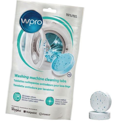 Lot de 3 tablettes anti-odeurs AFR301 pour lave-linge