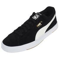 acheter populaire e4f76 959c2 Chaussures Puma Suède Noires et Blanches Taille 45
